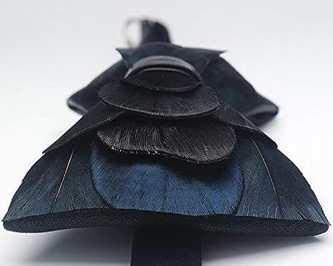 WATERMELON Pluma Natural con Textura Corbata Personalidad ...