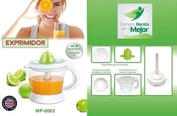 MAXELLPOWER EXPRIMIDOR DE Zumo ELECTRICO EXPRIMIDORA DE Naranjas Fruta 1L 40W DE Potencia: Amazon.es