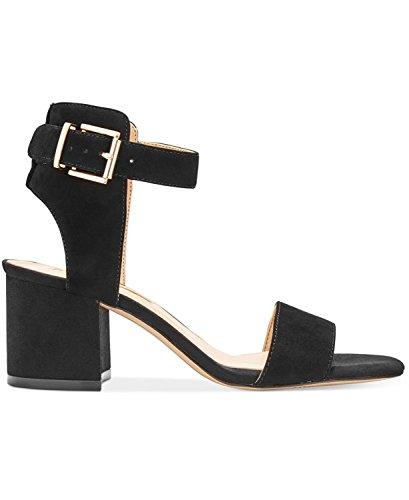 International Concepts Femme INC Black pour Suede Sandales 0fqHdH5w