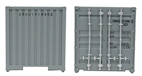 Walthers SceneMaster HO Scale Model of China Ocean Shipping Chevron 40' Corrugated Container