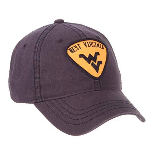(West Virginia Mountaineers Official NCAA Strummer Adjustable Hat Cap by Zephyr 687796)