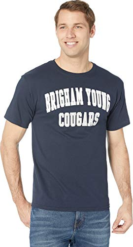 - Champion College Men's BYU Cougars Jersey Tee Navy Small