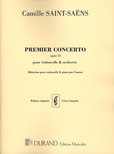 Saint-Saëns: Cello Concerto No. 1 in A Minor, Op. 33