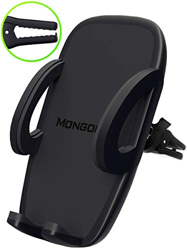 - Universal Air Vent Car Phone Mount Holder - 2019 Updated Version by Mongoora - for Any Smartphone - Car Cell Phone Holder - Vent Phone Holder - Car Vent Mount - Air Vent Mount Holder - for Women Men.