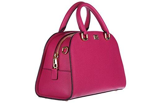 Dolce&Gabbana borsa donna a mano shopping in pelle nuova isabella fucsia