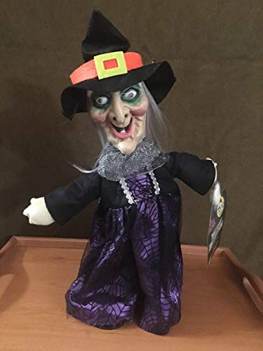 Animated Dancing Witch Halloween Tabletop Decoration ()