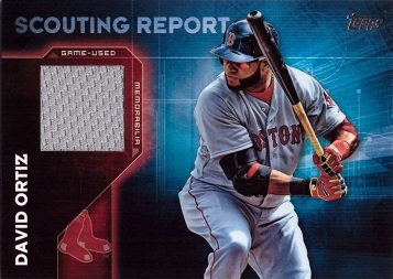 Topps Scouting Report Relics Baseball