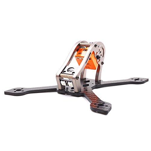 Micro Quadcopter FPV Quad Drone Multirotor Frame GEPRC Sparrow GEP MX3 3inch Frame 139mm Carbon Fiber Frame for RC Quad Quadcopter Drone FPV Kit