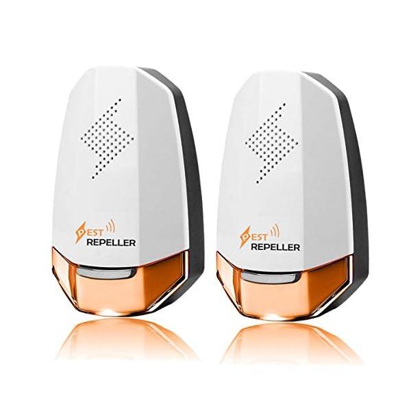 KedBrok Ultrasuoni per Topi 2 Pack, Repellente Ultrasuoni Antizanzare Ultrasuoni Repellente per Insetti Anti Topi… 1 spesavip