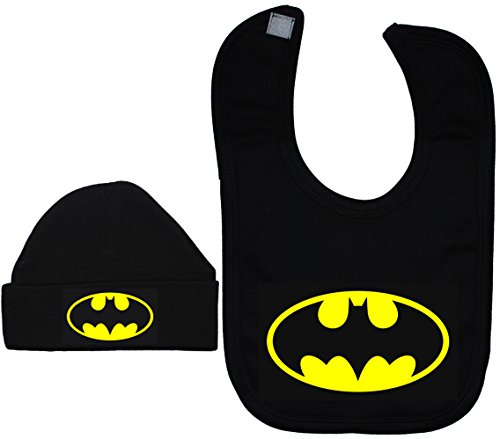 12 Hat Bat a Bonnet 0 Bib Acce Black And Batman mesi Hat Prodotti Da vIqfUf