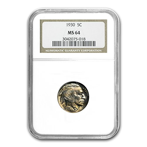 1930 Buffalo Nickel MS-64 NGC Nickel MS-64 NGC