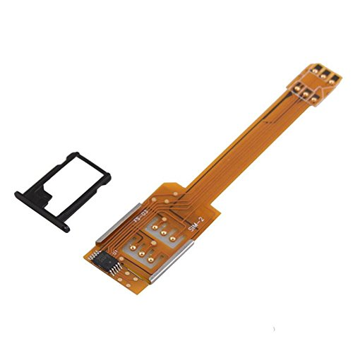 New Dual SIM Card Converter Suitable for Apple iPhone 5 5th Gen Five