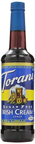Torani Sugar Free Syrup, Irish Cream, 25.4 Ounce (Pack of 4)