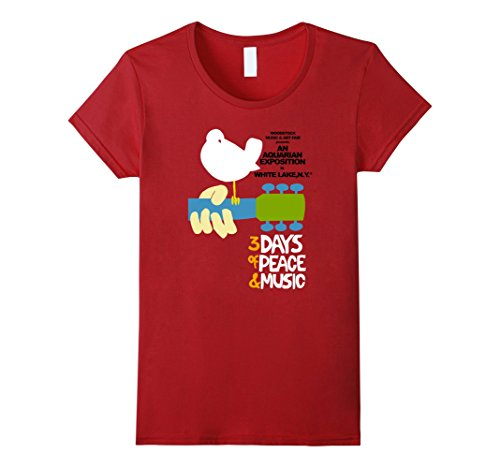 Womens Woodstock - Original Event T-Shirt Medium - Women Woodstock Of