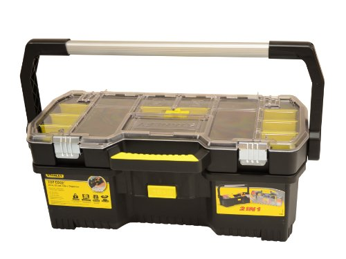 - Stanley 24 Inch Toolbox With Tote Tray Organiser