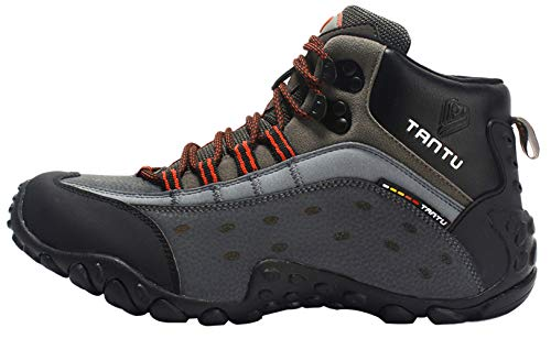 Grigio Walking Shoes Casual Man Insun Hiking Impermeabile Sport 1qn0xIag
