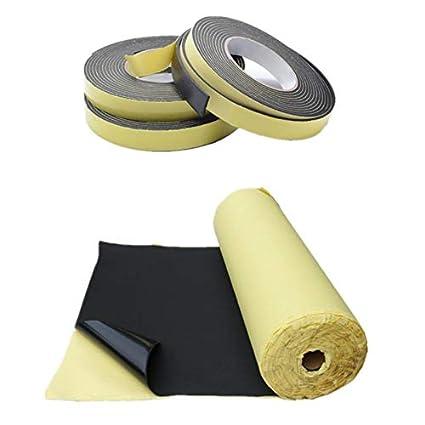 Weather Strip Rubber Strip Single Sided Adhesive Foam Tape Waterproof Door Seal