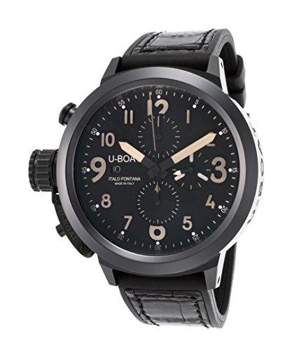 U-Boat Flightdeck Chronograph Full Ceramic Automatic Men's Watch 7387