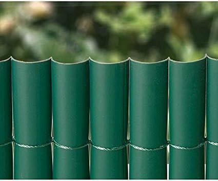 Cañizo PVC 1 Cara Verde 900Gr/3 2X3 Metros: Amazon.es: Jardín
