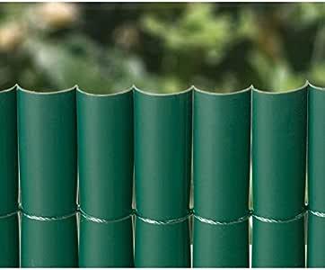 BONERVA Cañizo PVC 1 Cara Verde 900Gr/3 1X3 Metros: Amazon.es: Jardín