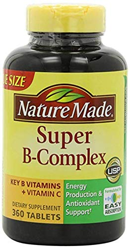 (Nature Made Super B Complex Tablets, VarietySize Pack of 460 Count)