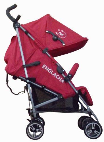 Englacha Omi Stroller, Red by Englacha USA