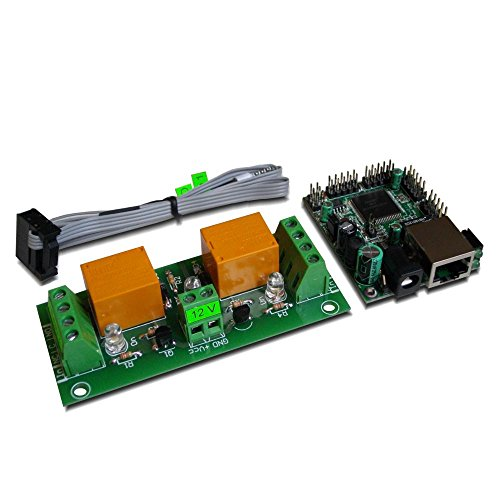 Denkovi Assembly Electronics Ltd Web SNMP Controlled 2 Relay Board, 12VDC - Free Android and iOS App