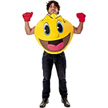 Deluxe Adult Pac Man Costume Pac-Man The Ghostly Adventures