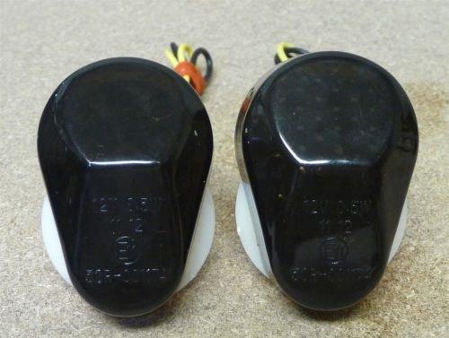 Smoke Flush Mount LED Turn Signals Blinkers Side Marker For 1996-2003 Kawasaki Ninja ZX7R ZX 7R 97 98 1998-2006 Kawasaki Ninja ZX6R ZX 6R 636 Ninja ZX10R ZX12R ZX9R ZZR600