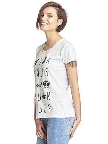 Shirt rmliges In T Curios und Alice Wonderland CurioserGraueskurz wPkO8n0X