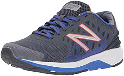New Balance Boys' Urge v2 Running Shoe, Grey/Pacific, 1 M US Little Kid