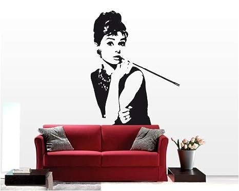 Adesivi Murali Audrey Hepburn.Kina 00001 Adesivi Murali Miti Audrey Hepburn 1 Stickers