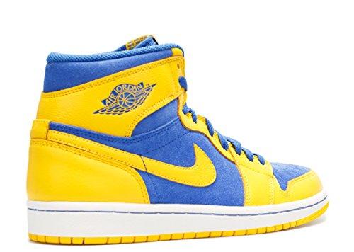 Game Air Nike Homme Maize De Chaussures High Sport 1 Royal Jordan Retro White Og Varisty n7nqA