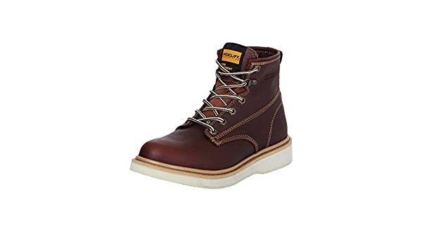 Amazon.com | Botin Trabajo S/C Agujetas ID 35211 Procliff Protection (Bot) Flother Cuero Walnut | Boots