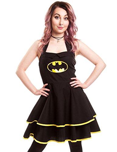 DRESS Black Kleid BATMAN CAPE Comics DC YSnTp6qgw