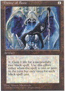Magic: the Gathering - Throne of Bone - Fourth Edition
