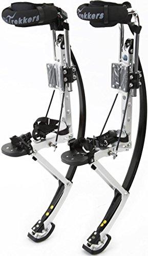 Air-Trekkers Adult Model - Carbon Fiber Spring Jumping Stilts - Large, 210-250 lbs by Air-Trekkers