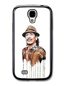 AMAF ? Accessories Carlos Santana Melting Clothes Portrait Illustration case for Samsung Galaxy S4