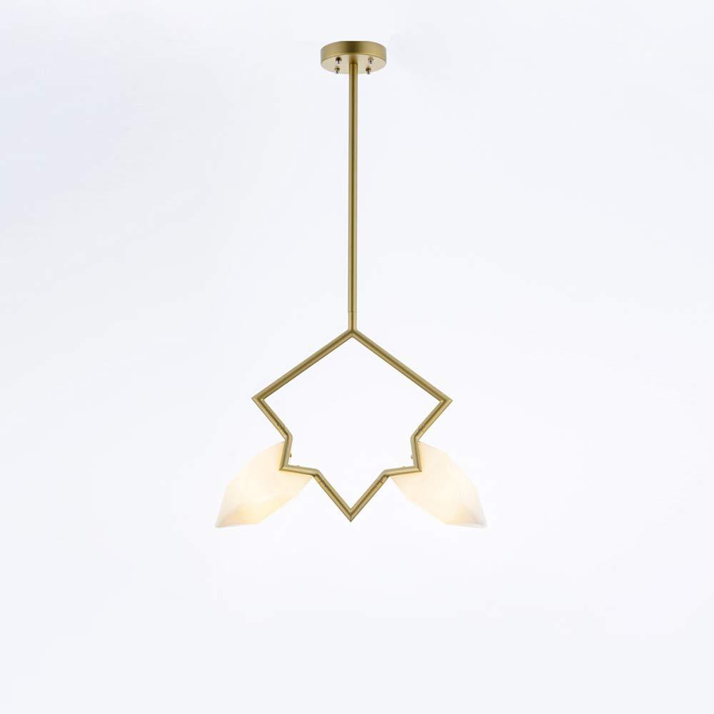 Modenny Moderne LED Metall Eisen Pendelleuchte Nordic Wohnzimmer hängen Lichter Schlafzimmer Leuchten Droplight Loft Cafe Studie Kinderzimmer Restaurant Küche Deckenleuchte (Größe   1-Light)