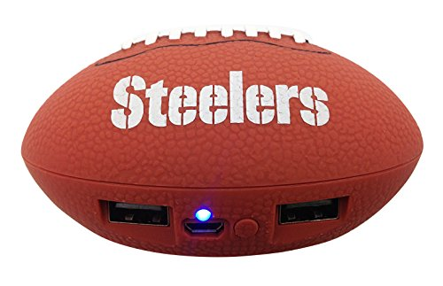 UPI Marketing, Inc. NFL Pittsburgh Steelers Phone Charger, One Size, Brown
