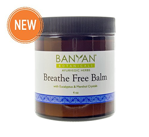 Banyan Botanicals Breathe Free Balm - Natural Chest Rub - Made with Ayurvedic Herbs That Support Respiratory Health