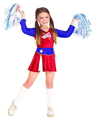 Rubies Cheerleader Child Costume, Small (Cheerleader Costume Girls)
