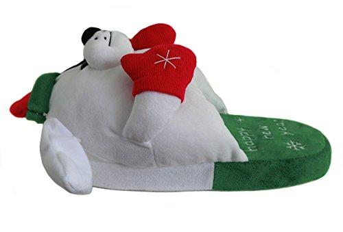 Luddiga Vintern Djur Tofflor För Män, Jul Bull Dog