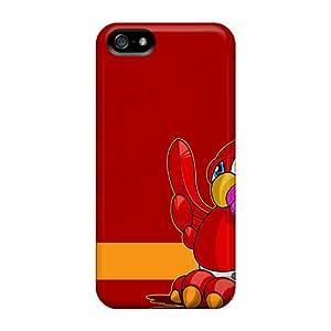 High Grade FrenkNC Flexible Tpu Case For Iphone 5/5s - Best Football Club England Liverpool