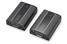 4K HDMI 2.0 Extender Set, UHD 4K*2K@60 Hz 30/60 m over network cable (Cat 6, 6a, 7),
