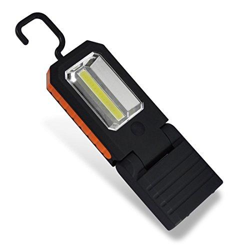 Portable LED Work Light, Multi-use COB Flashlight, Hands-Free