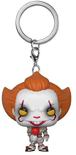 Funko Pop Keychain: Horror It - Pennywise with Balloon Collectible Figure, Multicolor