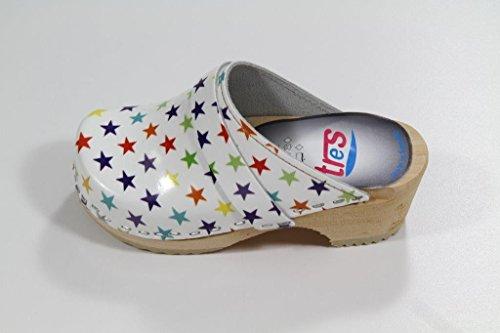 Enfant Pour Motif Tres Étoiles Modèle Schwedenclogs qtznBwxI7E