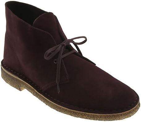 Clarks Original Desert Boots Burgundy