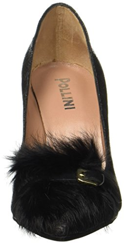 Pollini Damen W.shoe Pumps Schwarz (nero)